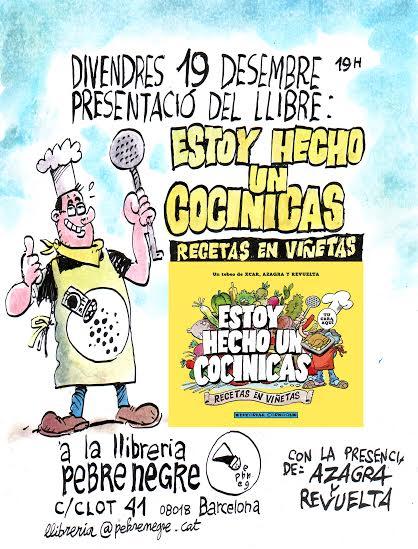 [19/12, 19h] Presentació del llibre ESTOY HECHO UN COCINICAS