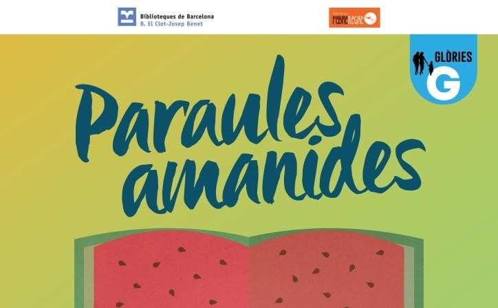 CICLE PARAULES AMANIDES. Un maridatge exquisit entre literatura i gastronomia