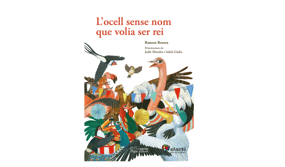 [DV 26/2, 18h] Contacontes: «L'ocell sense nom que volia ser rei», a càrrec de Ramon Besora