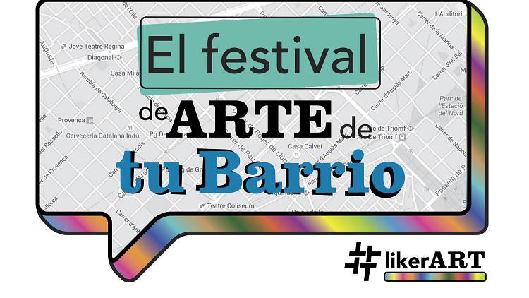 Article a Timeout del festival #LikerART. Pebre Negre una de les seus al barri del Clot