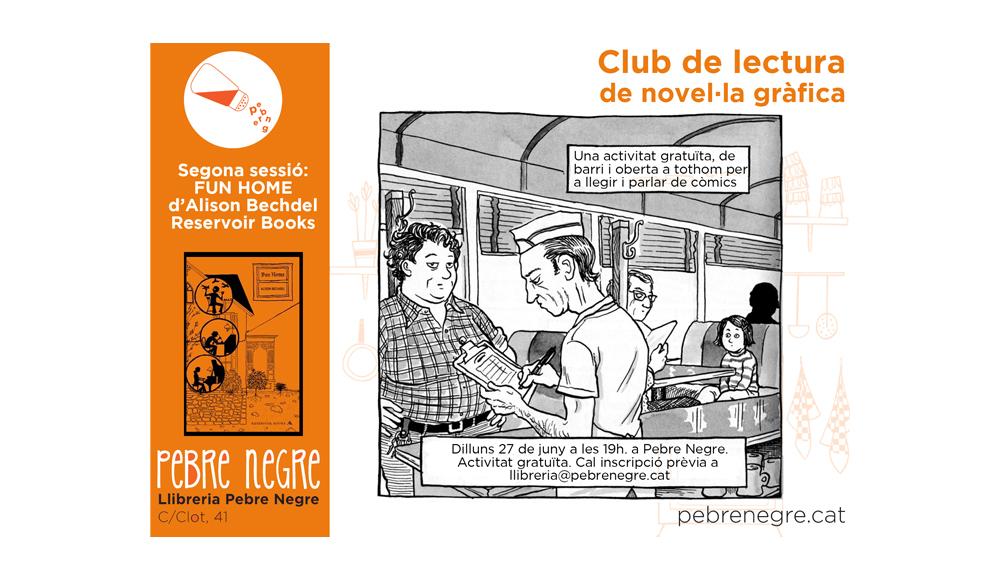 Resum de la segona sessió del Club de lectura de còmic [juny 2016]