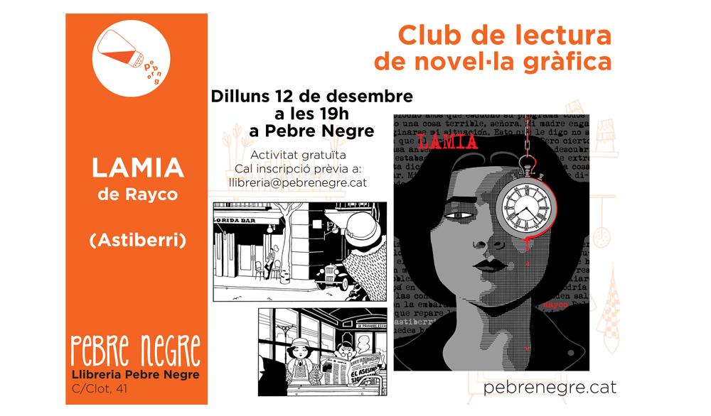 [DL 12/12/16, 19h]Club de còmic: Lamia [7]