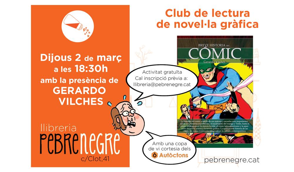 [DJ 2/3/17, 18h30] Club còmic: Xerrada amb Gerardo Vilches [10]