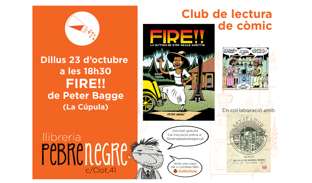 [DL 23/10/17, 18h30] Club de còmic: Fire!! [16]