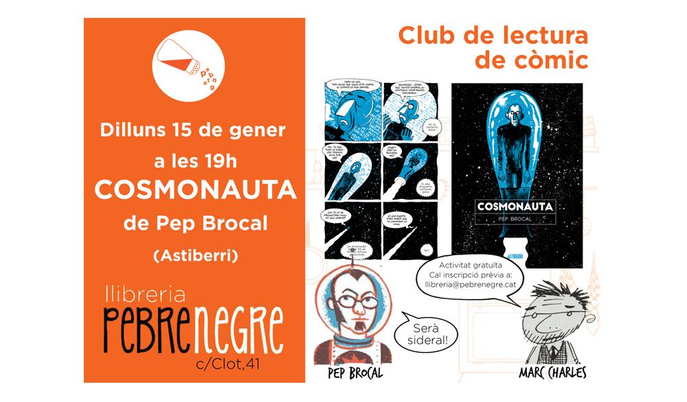 [DL 15/1/18 19h] club de còmic: Cosmonauta [19]