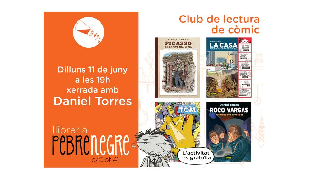 [DL 11/6/18, 19h] Club de còmic: xerrada amb Daniel Torres [24]
