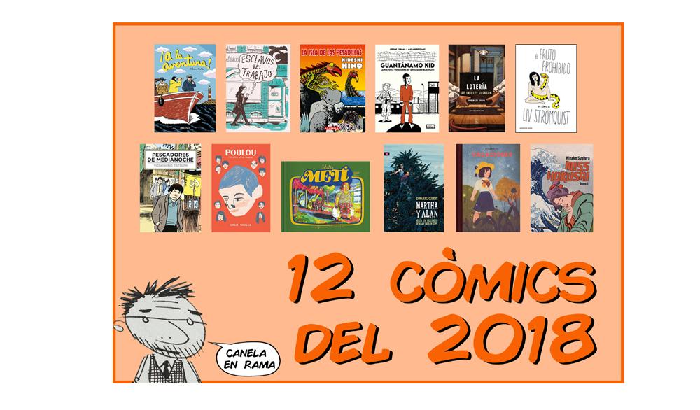 12 còmics del 2018, per Marc Charles