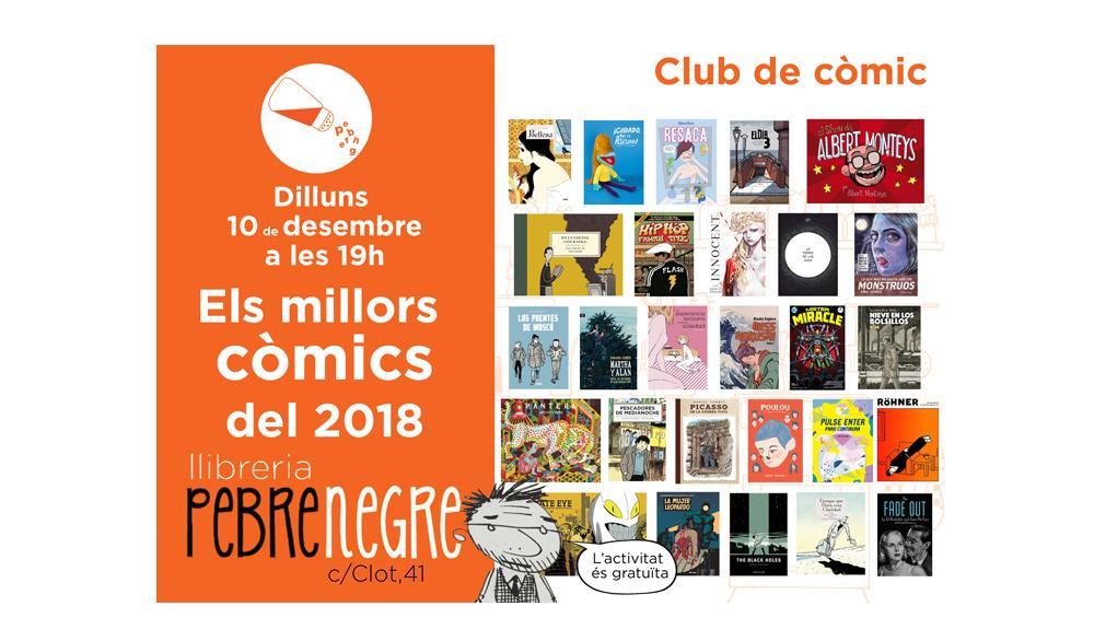 [DL 10/12/18, 19h] Club de còmic: els millors còmics del 2018 [30]
