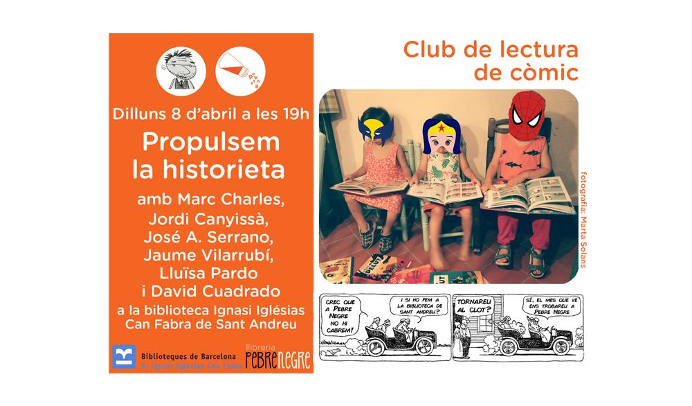 [DL 8/04/19, 19h] Club de còmic: Propulsem la historieta [34]